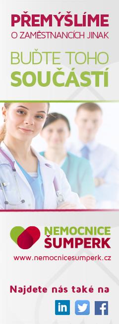 Nemocnice Šumperk - lnabídka práce