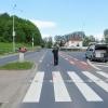 Motorkář v Šumperku srazil chodce