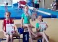 Šumperské sportovní gymnastky si připisují úspěchy
