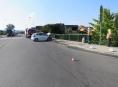 V Mohelnici při průjezdu zatáčkou řidič vyjel mimo komunikaci