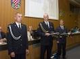 Tři hasiči převzali krajské ocenění