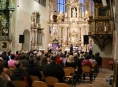 Klášterní kostel v Šumperku se stal místem, kde se prohloubilo přátelství