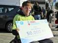 Tělesně postižený sportovec z Mohelnice získal nový mechanický vozík