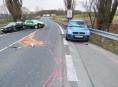 Bludovský kopec uzavřela ráno dopravní nehoda pěti vozidel