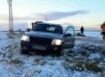 Řidiči podcenili první sněžení