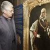 Olomouc - hejtman Oto Košta na výstavě František Josef I. ve Vlastivědném muzeu Olomouc   zdroj foto: Olk