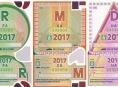 Dálniční známka v roce 2017