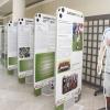 Fotbal v kontextu doby. Výstavu s tímto názvem zahájil hejtman Oto Košta a jeho náměstek František Jura   zdroj foto: Olk.