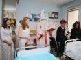 Mikuláš nezapomněl ani na děti z Nemocnice Šumperk