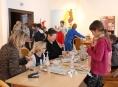 V šumperském muzeu děti tvořily v duchu evropských vánočních tradic