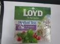 "Pozor na čaj ""Herbal tea (Loyd) – máta s brusinkou a bylinkami"""
