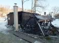 Na Jesenicku a Olomoucku požáry poničily zahradní domky