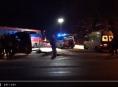 VIDEO.Zranění čtyř osob si vyžádala nehoda u Studené Loučky