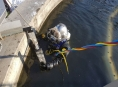 Netradiční zásah olomouckých potápěčů