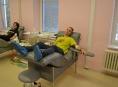 Šumperští středoškoláci hromadně darovali krev