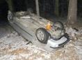 Opilá řidička se stala rekordmankou víkendových nehod na Jesenicku