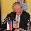 prezident Miloš Zeman v květnu 2015 v Šumperku      foto: archiv šumpersko.net