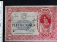 Ukradenou historickou bankovku dražili v aukci