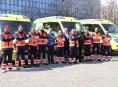 Kraj pořídil záchranářům osm nových sanitek
