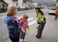 FOTO: Policie na Šumpersku dohlížela na přechody v blízkosti škol