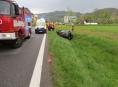 Řidič na Šumpersku usnul za volantem