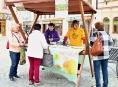 Český den proti rakovině na Šumpersku přinesl 158 tisíc korun