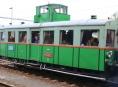Motoráček Věžák sveze návštěvníky Slavností města Šumperka