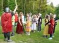FOTO: Jazykový kurz přenesl školáky do středověku