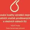Dvojí kvalita potravin v EU                    zdroj: MZ