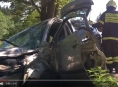 VIDEO! Hasiči během neděle zasahovali u šesti dopravních nehod