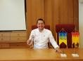"""Volební lídr Starostů a nezávislých za Olomoucký kraj Radim Sršeň:""""Jitrnice na stromech jsou fajn, ale musíme si je odpracovat!"""""""