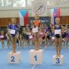 Gymnastky GK Šumperk si připisují první úspěchy v nové sezóně - starší žákyně      zdroj foto: oddíl