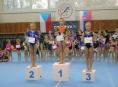Gymnastky GK Šumperk si připisují první úspěchy v nové sezóně