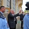 prezident Miloš Zeman při návštěvě v Šumperku v roce 2015      foto: archiv šumpersko.net