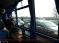VIDEO! Policisté v civilním autobusu monitorovali provoz na dálnici