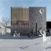 Šumperk - architektonická studie k DK, která byla předložena RM     zdroj: mus