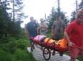 Žena se zranila během turistického výletu do Divokého dolu