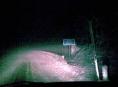 Sníh trápil řidiče na Jesenicku