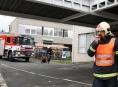 V Šumperské nemocnici hořelo ... naštěstí jen cvičně