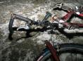 Zlomená vidlice způsobila muži ve Vikýřovicích pád z kola a poranění