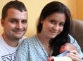 Dominik - první miminko Šumperské nemocnice v roce 2013