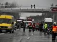 Hromadná nehoda dvaceti vozidel mezi Olomoucí a Ostravou