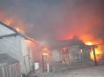 Požár zasáhl dva rodinné domy v Jívové