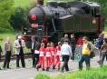 U cyklostezky Lupěné – Hoštejn otevřeli železniční skanzen