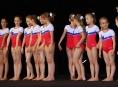 Sportovní gymnastky TJ Šumperk závodily