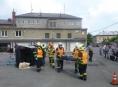 V Šumperku soutěžili dobrovolní hasiči