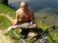 Rybaření na Sobáčovském rybníku
