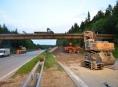 Dálnici D1 čeká úplná uzavírka, bourat se bude šest mostů