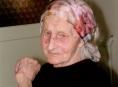 Stoletá babička z Jeseníku, paní Žofie Selucká