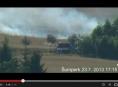 V Šumperku hořelo pole